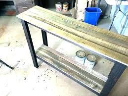 how to build a sofa table sofa table plans free sofa table plans sofa table plans