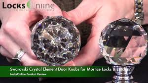 Swarovski Crystal Element Door Knobs for Mortice Locks & Latches ...