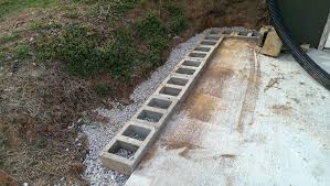 cinder block wall retaining wall lovely cinder block retaining wall footer