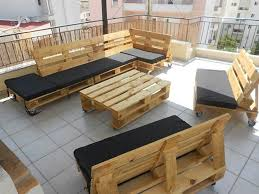 Pallet Patio Furniture New House Pinterest Diy