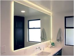 lighting behind mirror. hidden lighting behind mirror
