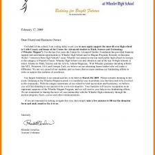 Sample Letter Requesting Donations For School Supplies New