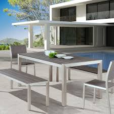 modern patio furniture. Best Modern Patio Table And Chairs Contemporary Dining Sets For Outdoor Furniture Plan 5