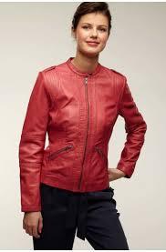 biker inspired lambskin leather jacket