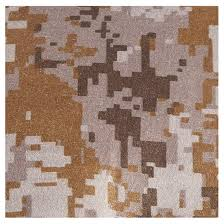 desert digital camo brown on back