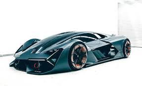lamborghini car 2018. lamborghini terzo millennio concept car 2018