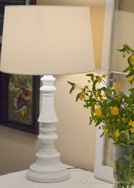 spray painted brass lamps painting49