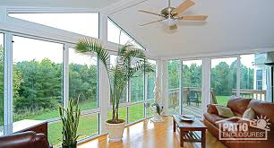 sunroom interiors. Perfect Interiors White Aluminum Frame Four Season Room With Gable Roof For Sunroom Interiors R