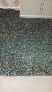 large teal and brown gy rug kirkcaldy