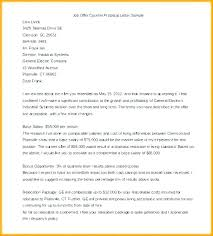 Job Offer Proposal Template Getvenue Co