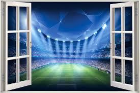 football field wall decals futuristic wall decals als stickers on wall  futuristic wall decals murals stickers
