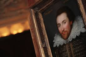 william shakespeare born apr com a portrait of william shakespeare is pictured in london on 9 2009