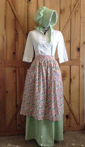 pioneer woman clothing. fun womens pioneer skirt apron bonnet prairie by cutemormonstuff woman clothing