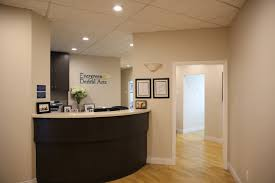 dental office reception. Evergreen Dental Arts - Office Tour Front Desk Reception G