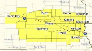 Sioux Falls weather: Large portion of ...