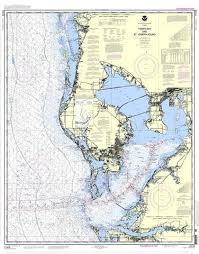 Noaa Nautical Chart 11412 Tampa Bay And St Joseph Sound