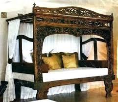 bamboo canopy bed – etnosfera