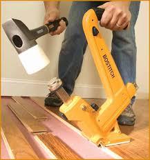 hardwood floor nail