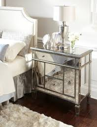 vegas white glass mirrored bedside tables. Vegas White Glass Mirrored Bedside Tables. 10 Classy Tables