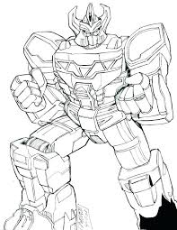 Power Rangers Coloring Pictures Large Size Of Animal Force Pages