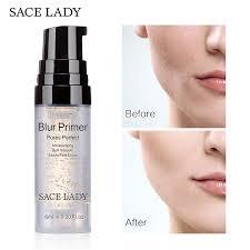 sace lady blur primer makeup base 6ml face