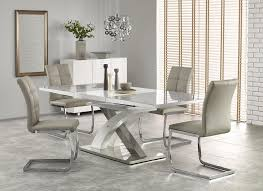extending glass dining tables dining furniture innovative extendable glass dining table set