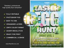 Easter Party Flyer Template V7 Flyerheroes