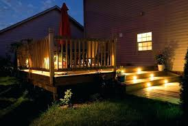 exterior deck lighting. Under Deck Lighting Idea Outdoor Or Led Awesome Exterior O