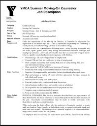 Camp Counselor Resume 7477