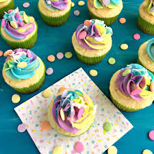 Coconut Cream Unicorn Cupcakes Krazy Kitchen Mom