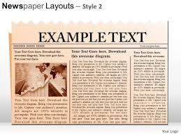 Powerpoint Newspaper Clipping Template Newspaper Powerpoint Templates Slides And Graphics