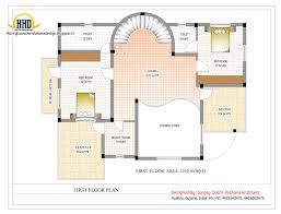 duplex house plan and elevation 3122 sq ft kerala for house plan for 700 sq ft