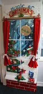 office christmas door decorations. Christmas Door Decorations Ideas For The Office Decoration Decorating Themes .