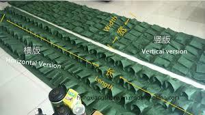 china living wall planter bag for