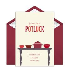 Free Online Thanksgiving Invitations Free Potluck Online Invitation Punchbowl Com