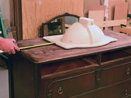 select dresser and sink