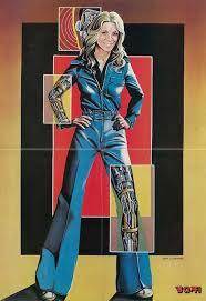 Bionic Woman | Flickr - Photo Sharing! | Bionic woman, 70s sci fi art, Sci  fi art
