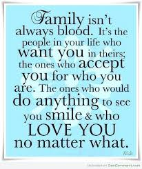 Family Isn T Always Blood Quotes Amazing Family Isn't Always Blood DesiComments