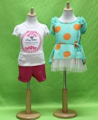 Baby Dress Display Stand Extraordinary Lovely High Quality Fabric Half Body Baby Display Mannequin With