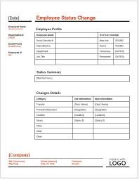 Employee Status Employee Status Form Under Fontanacountryinn Com