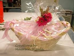 Gift Basket Wrapping Ideas For A Memorable Baby Shower Gift Pin Onesies Socks And Other