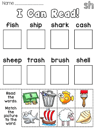 Th Digraph Worksheets For Kindergarten Sh Phonics Worksheets Free Ch ...