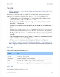 It Statement Of Work Statement Of Work Template Apple Iwork Pages Templates Forms