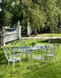 Marvelous Antique Wrought Iron Patio Furniture By Interior Designs