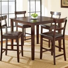 counter height dining sets 5 piece