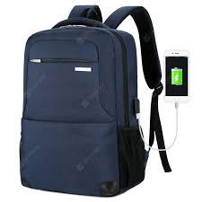 <b>Men's Backpack Waterproof Nylon</b> Business Casual Large Capacity ...