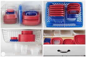 Plastic Kitchen Cabinet Gorgeous 48 Easy And Affordable Ways To Organize All Your Food Containers Jillee
