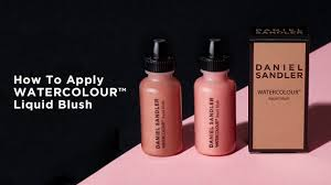 daniel sandler watercolour liquid blush 15ml makeup free delivery justmylook