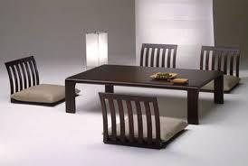 Amazing Japanese Style Dining Table