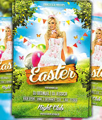 Easter Flyer Templates Free Easter Party Free Flyer Psd Template ...